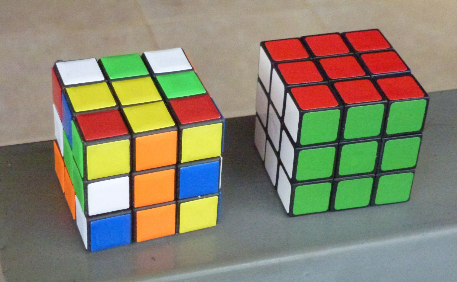 Problem and solution, Rubiks cube